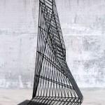 steel 10/06, 360 x 225 x 75 cm, 2010