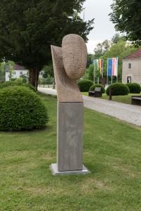 Eiche 15/05, Ausstellungsansicht Kloster Raitenhaslach, 2019