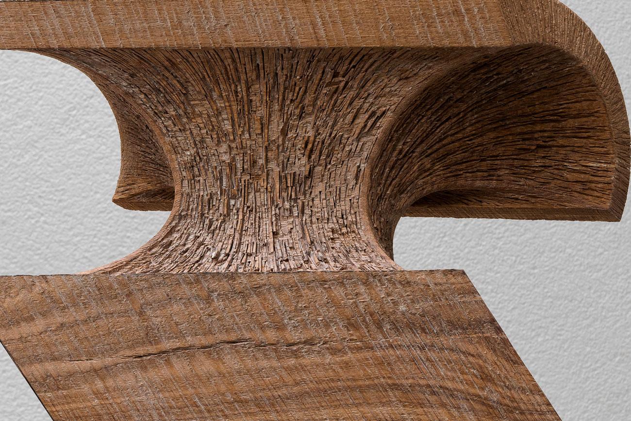 oak 19/01, 60 x 61 x 17 cm, 2019, detail