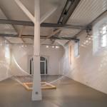 Fichte, Folie 20/06, Installation im Alten Schlachthaus, Mosbach, 2020