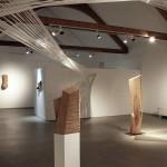 """""""Raumspannungen"""", Kunststation Kleinsassen, 2016, Ausstellungsansicht 4"""