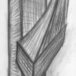 Kohle auf Papier, 100 x 36 cm, 2016