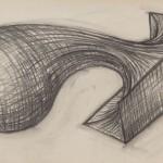 Kohle auf Papier, 36 x 75 cm, 2017
