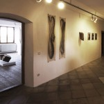 """""""zeit.raum"""", Liebenwein Tower Burghausen, 2013, exhibition view 1"""