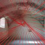 """""""zeit.raum"""", Liebenwein Tower Burghausen, 2013, exhibition view 11"""