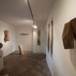 """""""zeit.raum"""", Liebenweinturm Burghausen, 2013, Ausstellungsansicht 2"""