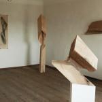 """""""zeit.raum"""", Liebenweinturm Burghausen, 2013, Ausstellungsansicht 3"""