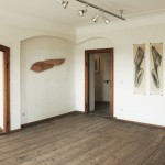 """""""zeit.raum"""", Liebenweinturm Burghausen, 2013, Ausstellungsansicht 4"""