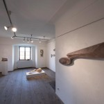 """""""zeit.raum"""", Liebenweinturm Burghausen, 2013, Ausstellungsansicht 5"""