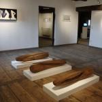 """""""zeit.raum"""", Liebenweinturm Burghausen, 2013, Ausstellungsansicht 8"""
