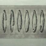 Radierung 00/02, 24,5 x 54 cm, 2000