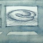 Radierung 00/04, 17,5 x 49 cm, 2000