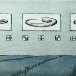 Radierung 00/05, 22 x 49 cm, 2000