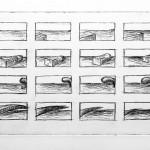 Radierung 07/01, 20,5 x 51,5 cm, 2007
